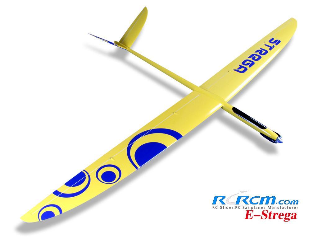 Strega 2.9m wingspan rc glider model  4