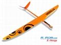 Strega 2.9m wingspan rc glider model  5