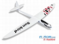Hot Sunbird composite rc plane model