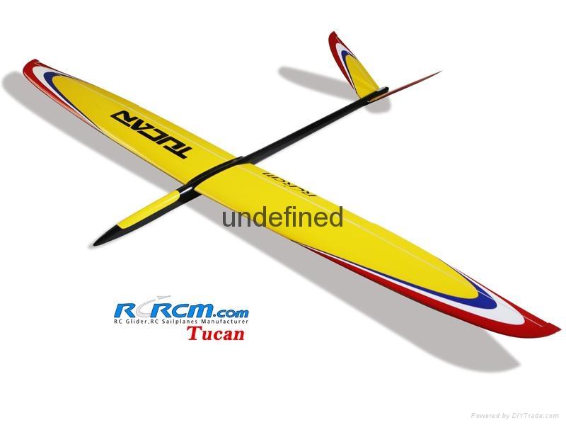Tucan 2m composite rc glider  1