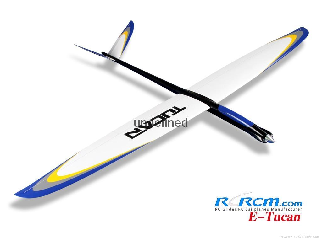 Tucan 2m composite rc glider  2