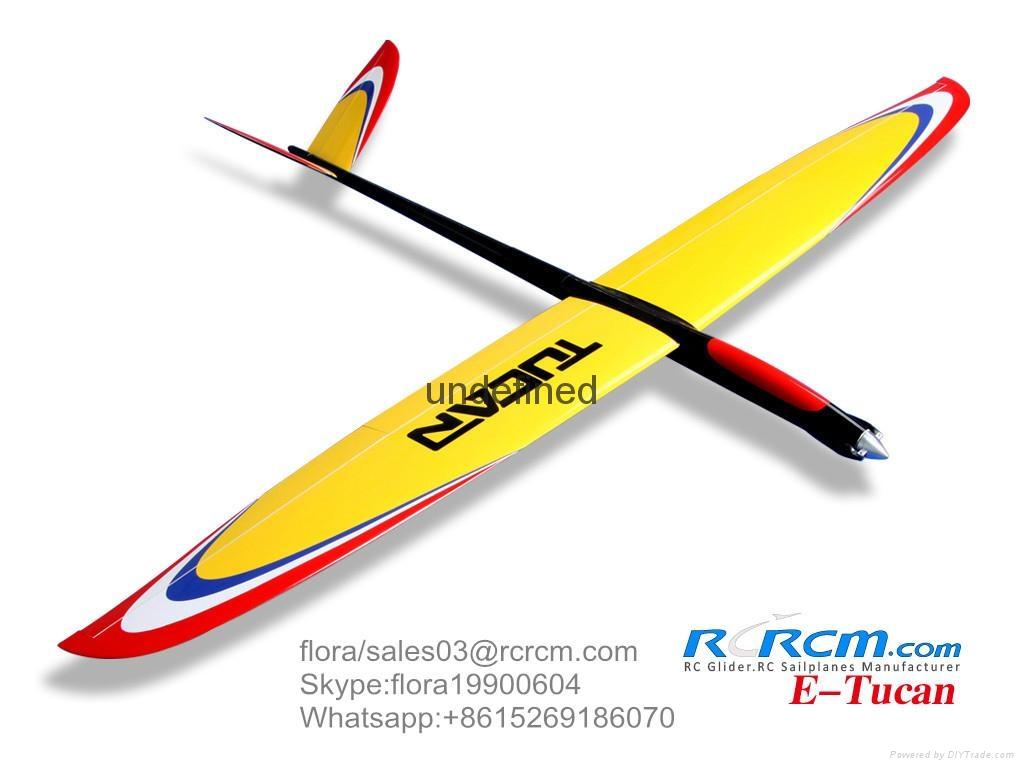 Tucan 2m composite rc glider  3