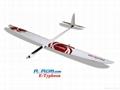 Typhoon composite remote control glider