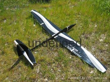 Mini vector 1.69m aerobatic glider  3