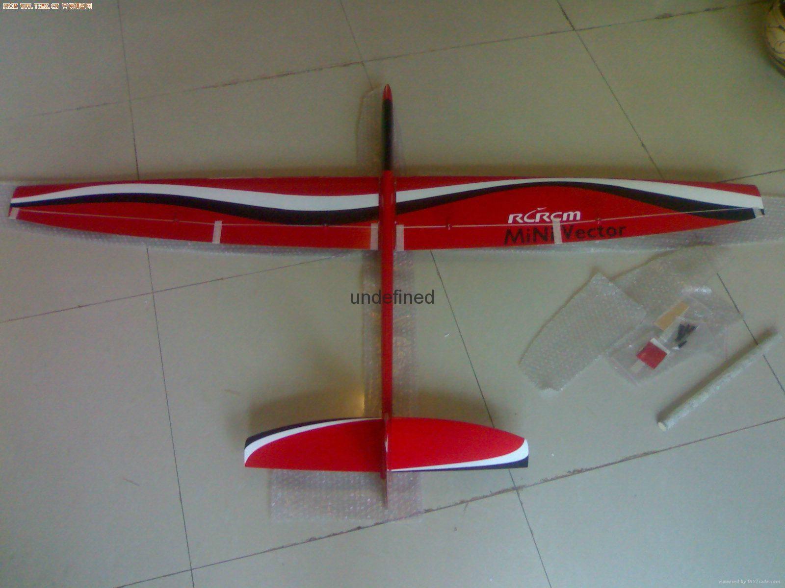 Mini vector 1.69m aerobatic glider  4