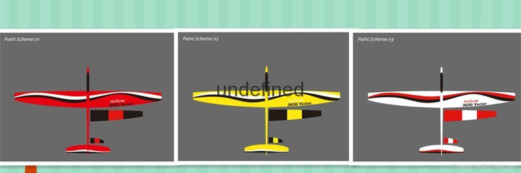 Mini vector 1.69m aerobatic glider  5