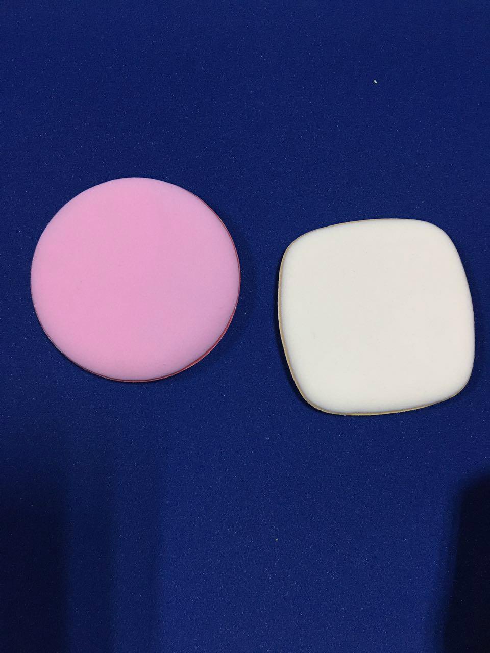 Air cushion powder on makeup beauty ribbon can be printed logo 1
