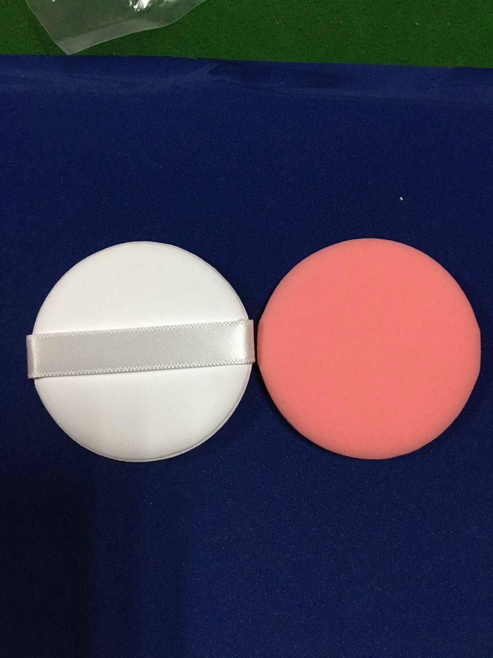 Air cushion powder on makeup beauty ribbon can be printed logo 2