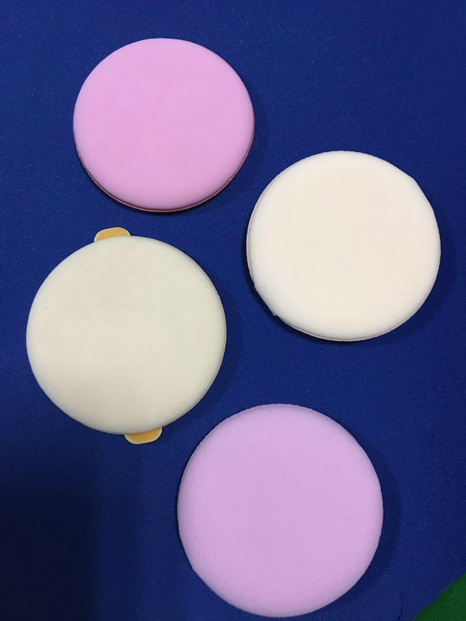 Air cushion powder on makeup beauty ribbon can be printed logo 3