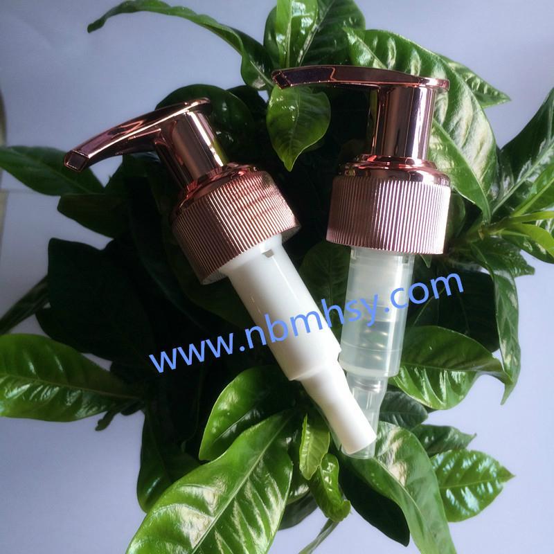 Colorful Plastic Shampoo Lotion Pumps Supplier 1
