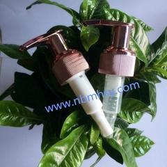 Colorful Plastic Shampoo Lotion Pumps Supplier
