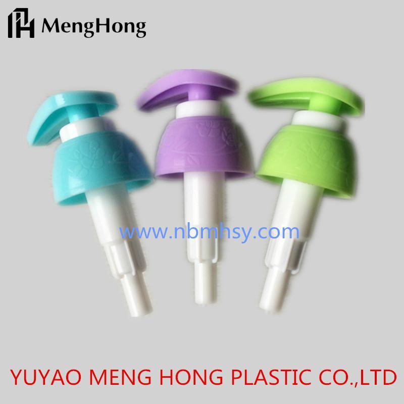 Colorful Plastic Shampoo Lotion Pumps Supplier 3
