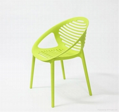 Wholesale Leisure Polypropylene Plastic Chair Cafe Dining Chair