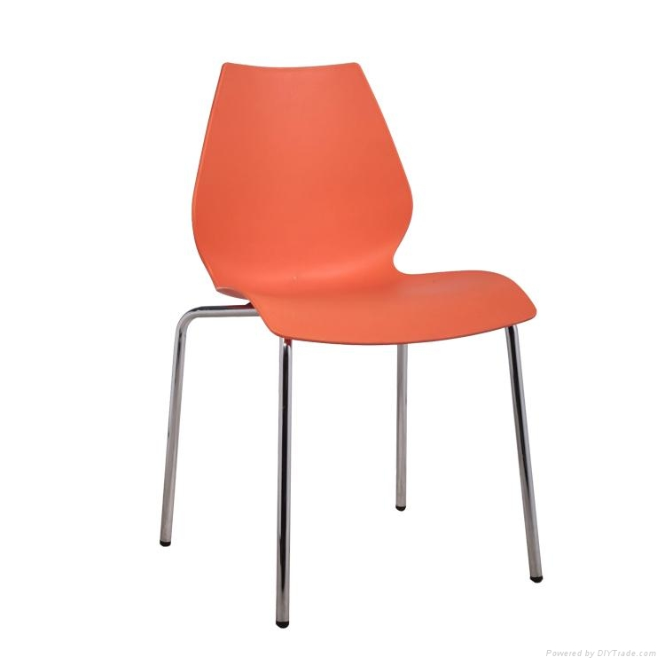 Cheap Dining Chairs For Sale: Leisure Dining Chair Cheap Armless Plastic Chair For Sale
