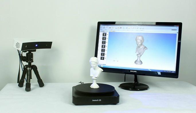 供應Jeatech JTscan-DS桌面藍光三維掃描儀 2