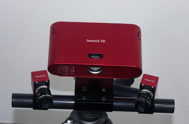 Jeatech JTscan-FS自由式工業級三維掃描儀  2