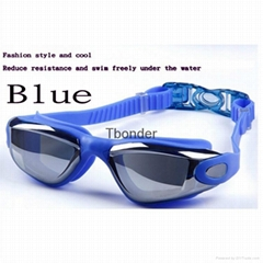Fashion UV Protection Clear Lens Swimming Glasses Anti fog Swimming goggles