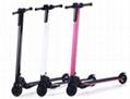 Carbon Fiber 250W Folding Electric Scooter
