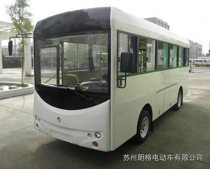 厂家直销朗格电动车B20系列20座电动校园巴士小巴 1