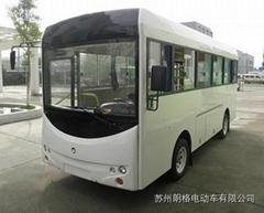 廠家直銷朗格電動車B20系列20座電動校園巴士小巴