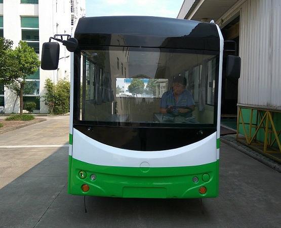 厂家直销朗格电动车B20系列20座电动校园巴士小巴 2