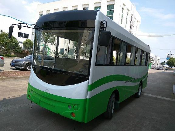 厂家直销朗格电动车B20系列20座电动校园巴士小巴 4