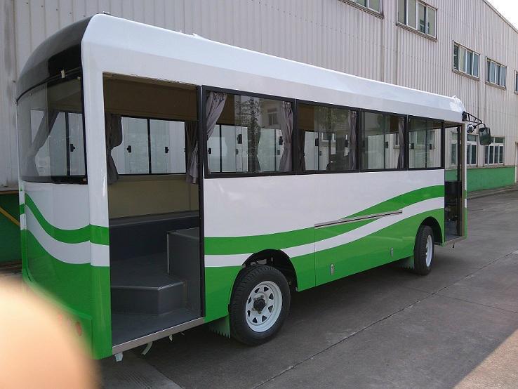 厂家直销朗格电动车B20系列20座电动校园巴士小巴 5
