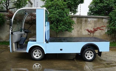 厂家直销朗格电动车TBH系列2.4米2吨平板货车 3