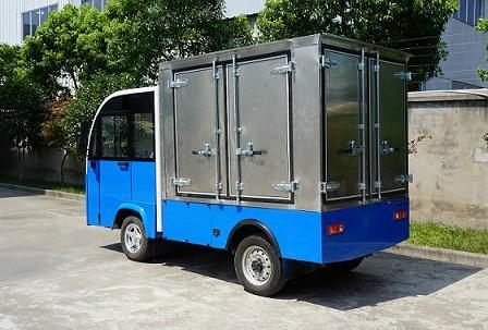厂家直销朗格电动车TBH系列2.4米1吨厢式货车 1