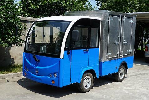 厂家直销朗格电动车TBH系列2.4米1吨厢式货车 5