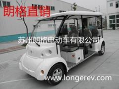 黃海森林公園景區8座敞篷電動觀光車