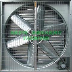 河北普伦达热镀锌风机防护网