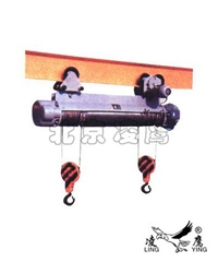 供应钢丝绳同筒双钩电动葫芦