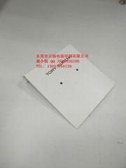 哑白PVC烫金logo背面折挂钩定制规格尺寸厚度东莞广东
