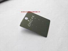 首饰卡裱纸烫金logo定制尺寸规格厚度东莞广东