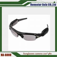 Sunglasses Spy Hidden Camera 1280*960 / 720*480 Eyewear Video Recorder