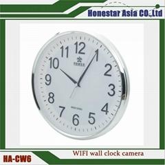 Wifi Wall Clock Camera Motion Detection