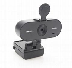 W15 Full HD 2K Auto Zoom HD Webcam