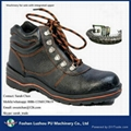 semiautomatic safety shoes pu foaming