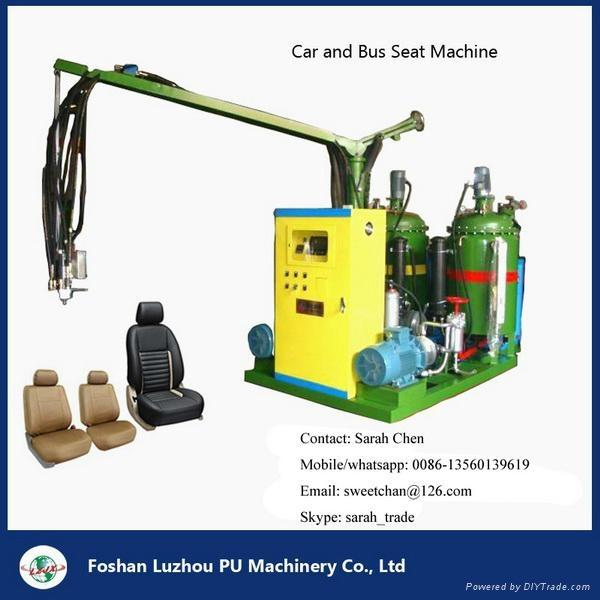 聚氨酯PU汽车坐垫模具成型发泡生产线 4