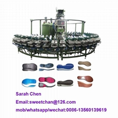 PU shoe sole machine pu sole injection making machine