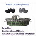 Pu safety shoes making machine
