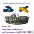 polyurethane soles foaming production