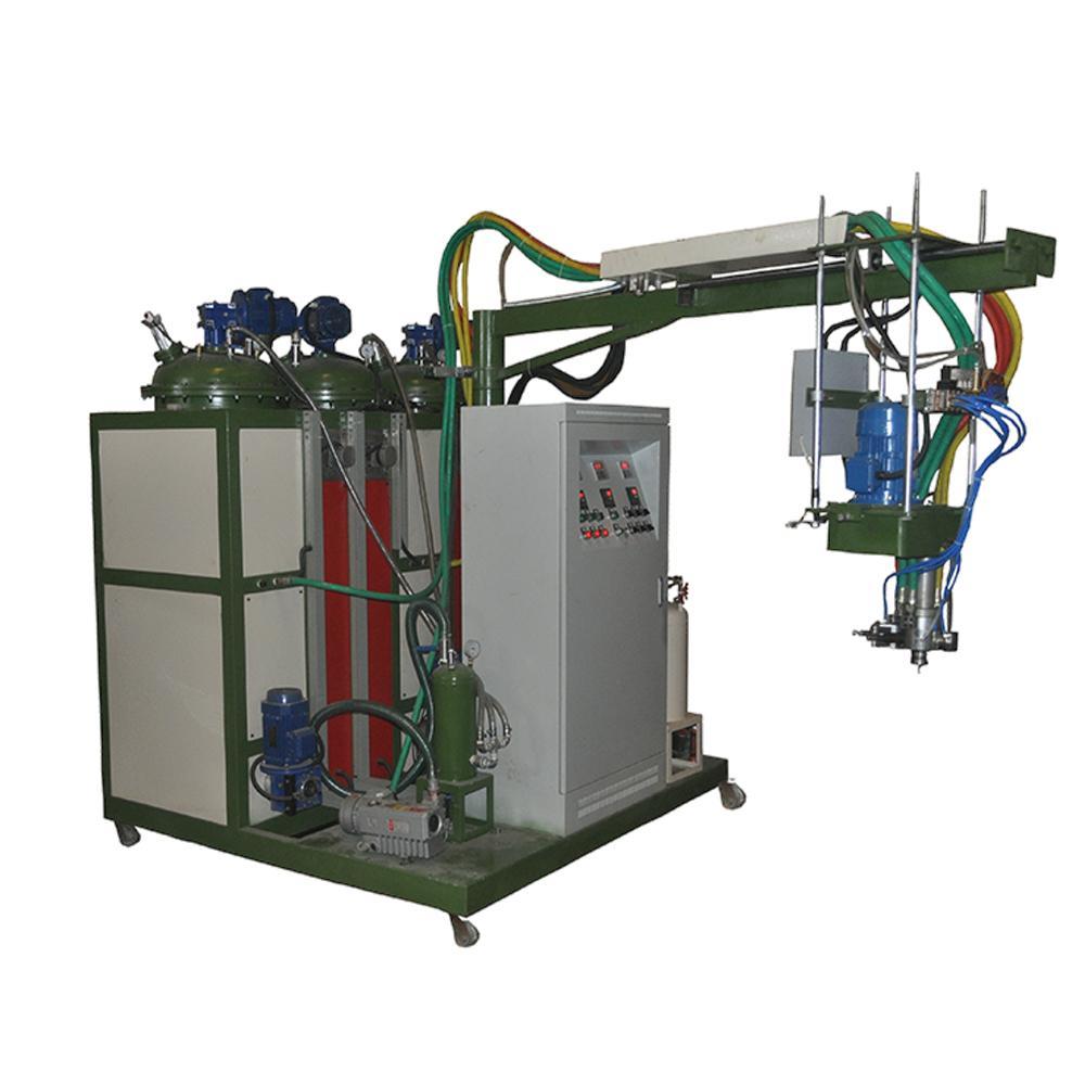 Low pressure foam machine pu shoe making machinery  2