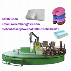 PU memory foam pillow Making machine
