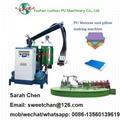 PU memory foam pillow Making machine 2