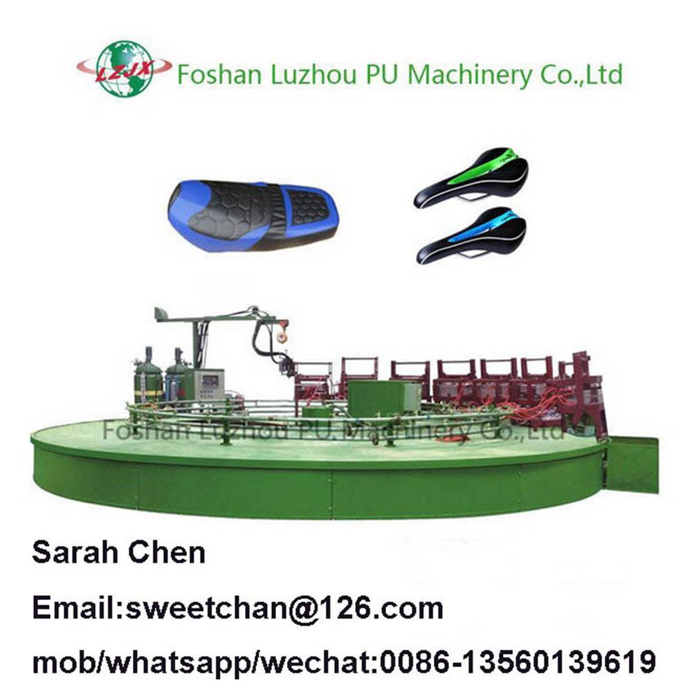 PU car seat molded foam machinery  1
