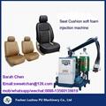 PU car seat molded foam machinery  2