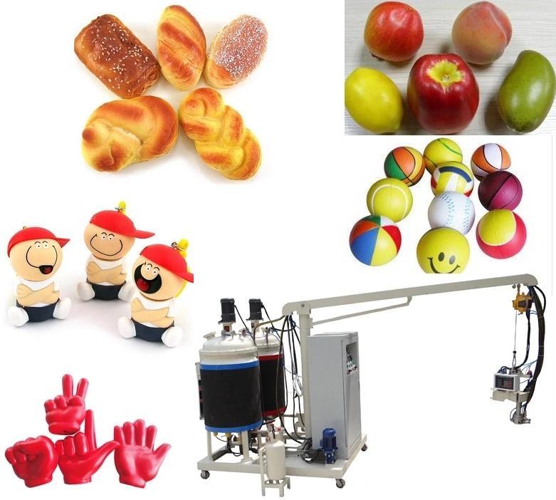PU toys foam making production line  2