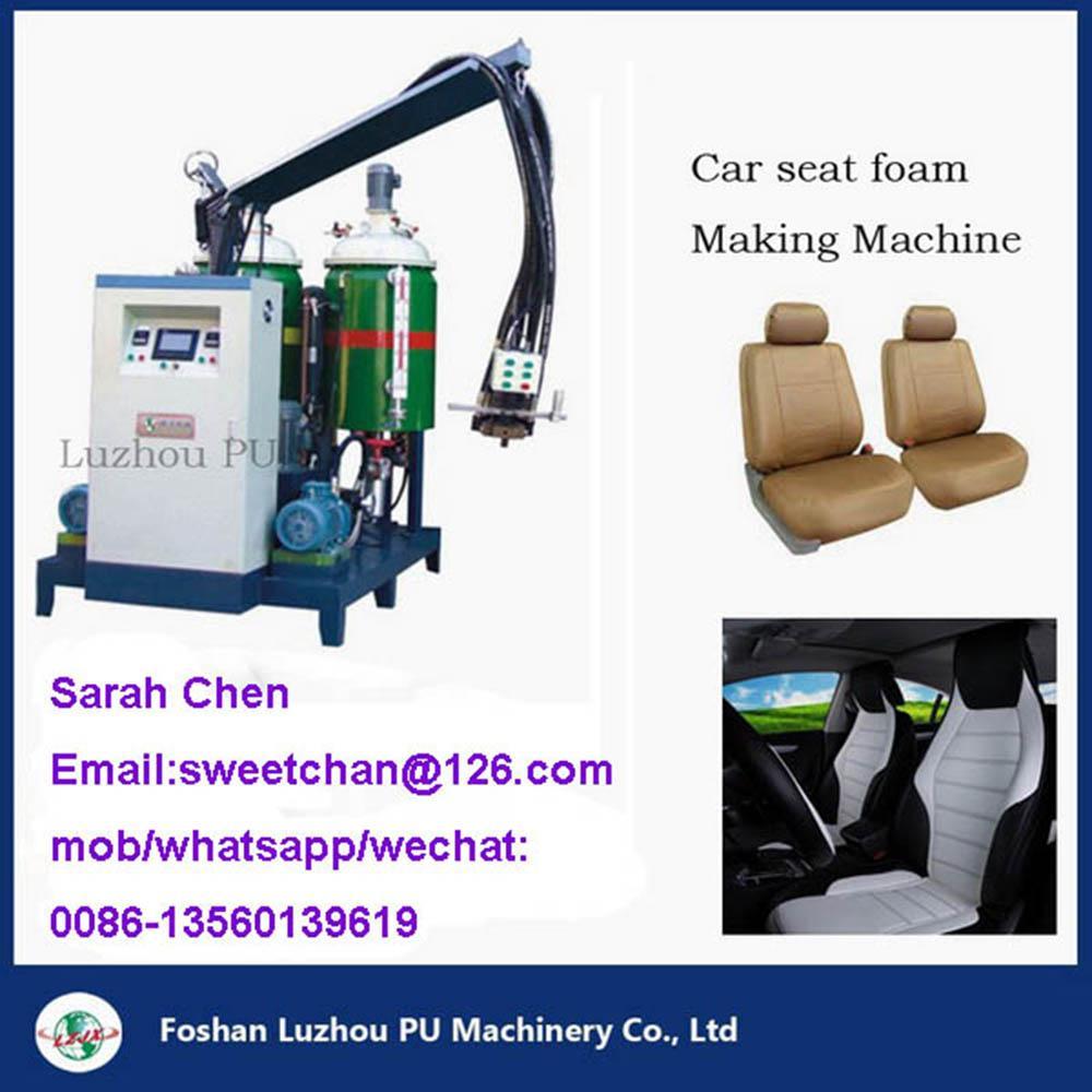 PU car seat molded foam machinery  5